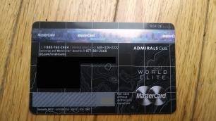 "Here's the ""World Elite"" logo above the MasterCard logo on my Citi AAdvantage Executive."