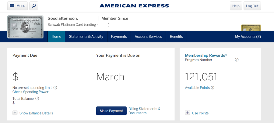 amex-welcome-page