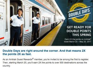 Double Days Email Promo
