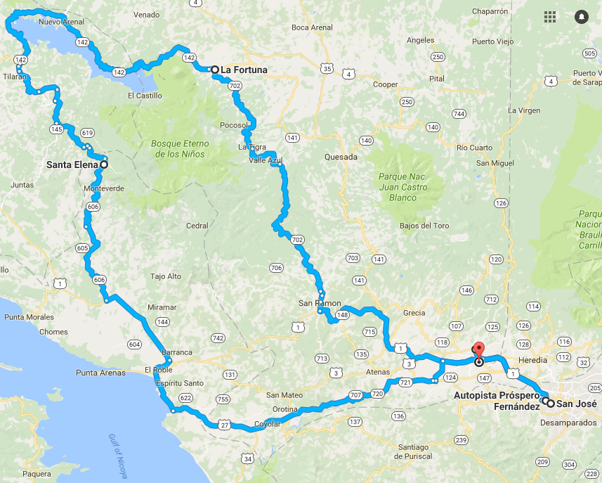 Driving Route