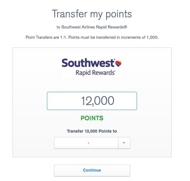 Transfer Southwest